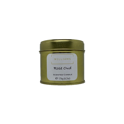Rose Oud Soy Candle