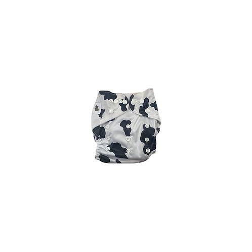 Pocket Nappy | Cow Print  - Williams Baby