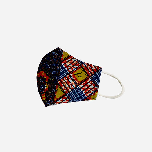 Cotton Face Mask | African Print Ankara