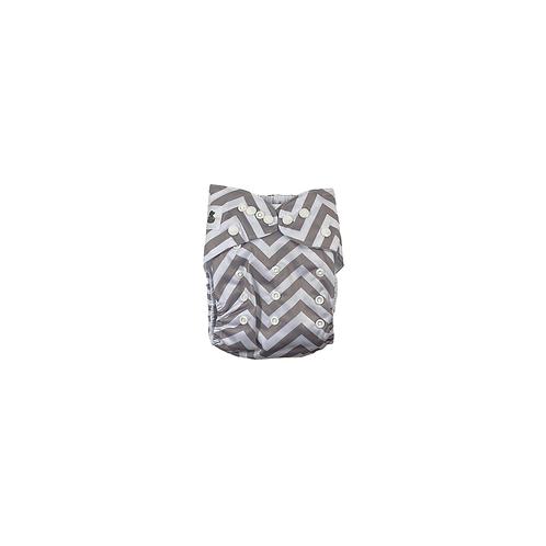 Pocket Nappy | Grey Zag  - Williams Baby