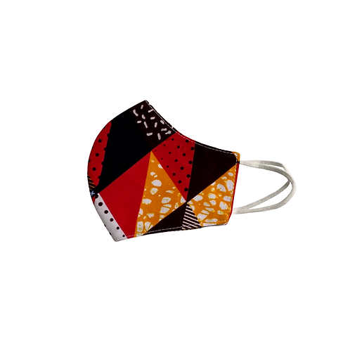 Cotton Face Mask   African Print Ankara