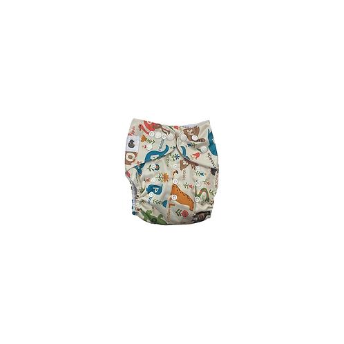Pocket Nappy | Alphabet Animals  - Williams Baby