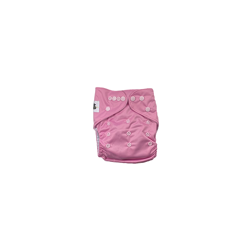 Pocket Nappy   Baby Pink  - Williams Baby