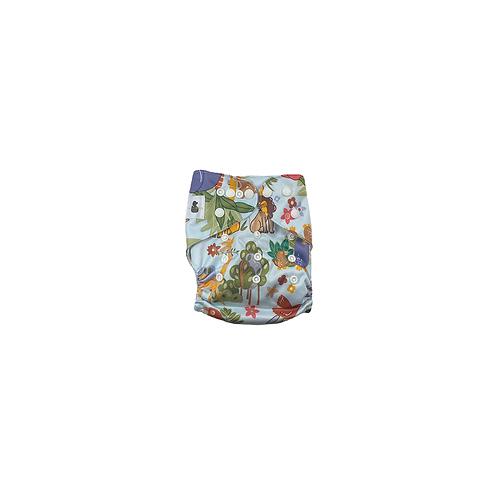 Pocket Nappy | Jungle Animals  - Williams Baby