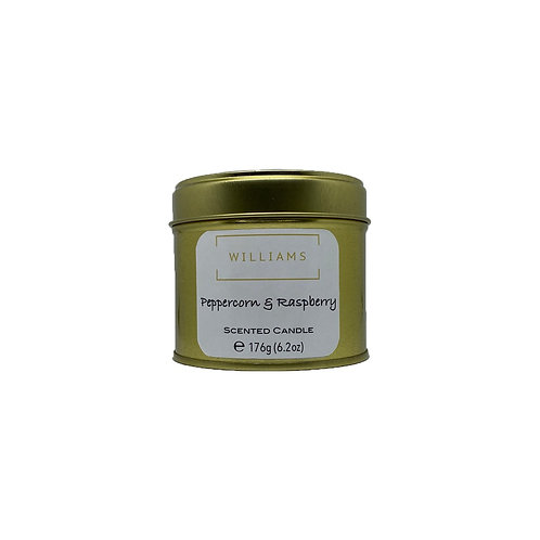 Raspberry & Peppercorn Soy Candle