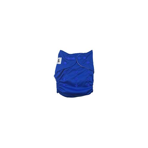 Pocket Nappy   Royal Blue - Williams Baby