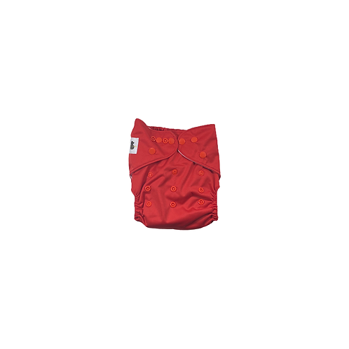 Pocket Nappy | Cherry Red  - Williams Baby