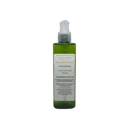 Clementang (Clementine) Hand Sanitiser 250ml Plant Based Gel