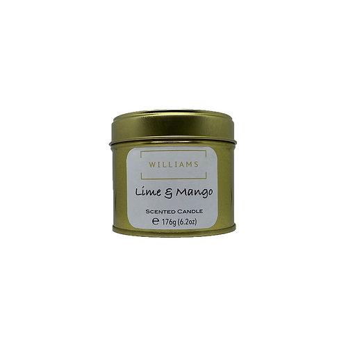 Lime & Mango Soy Candle