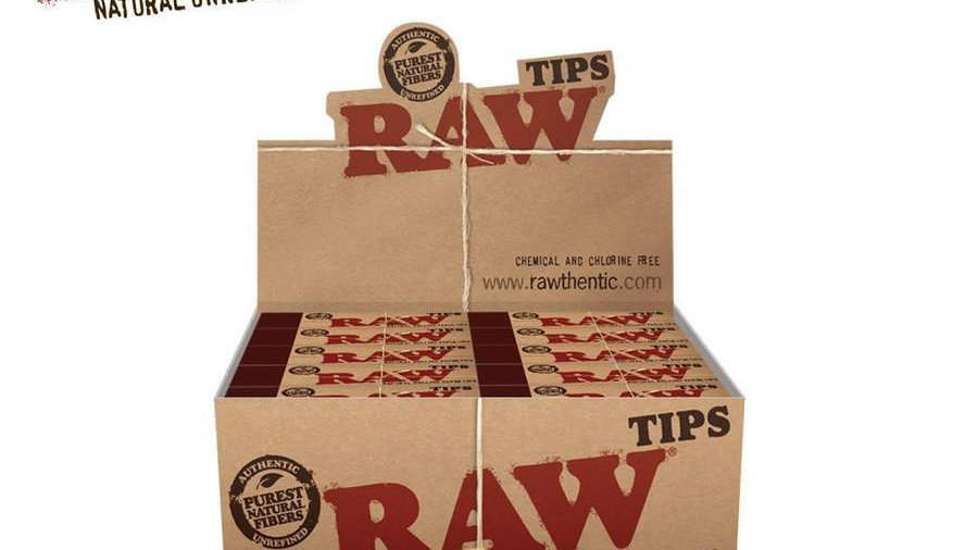 RAW Natural Unrefined Tips Original