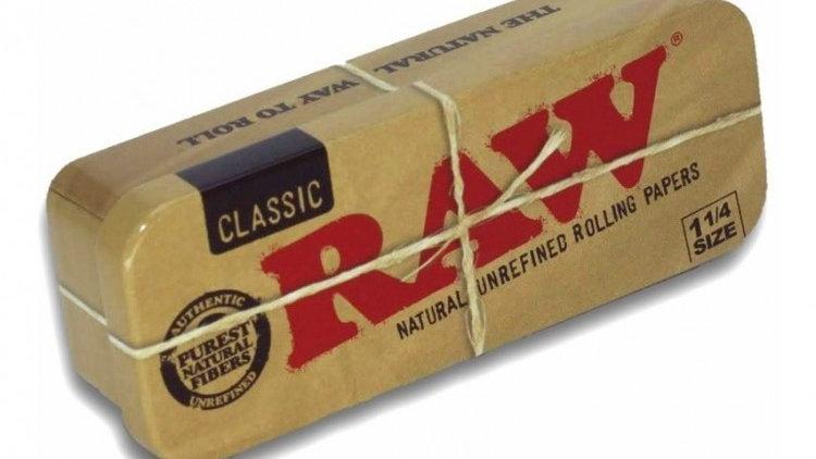 Caja Raw Metálica 1 1/4 size