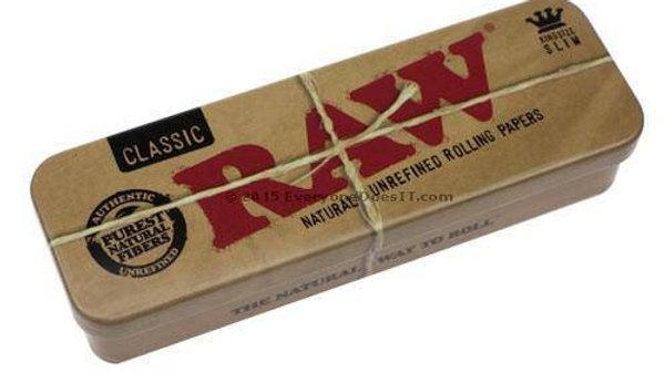 Caja Metálica Raw De Preenrolados King Size