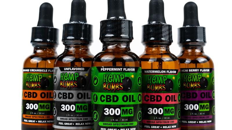 aceites sublinguales CBD Hemp Bombs