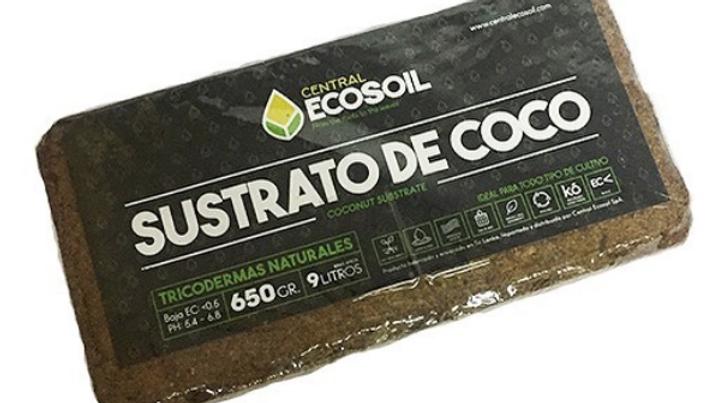 Sustrato de Coco 9Lts Central Ecosoil