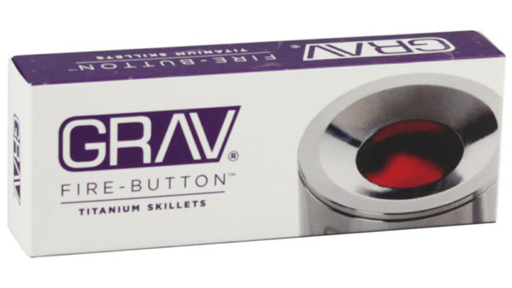 Fire Button Grav - Titanium Skillets