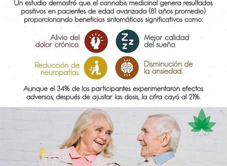 Cannabis Medicinal y Adultos Mayores