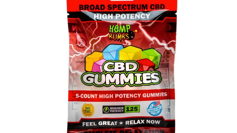 GOMITAS DE CBD | 25 MG. POR GOMITA | HEMP BOMBS