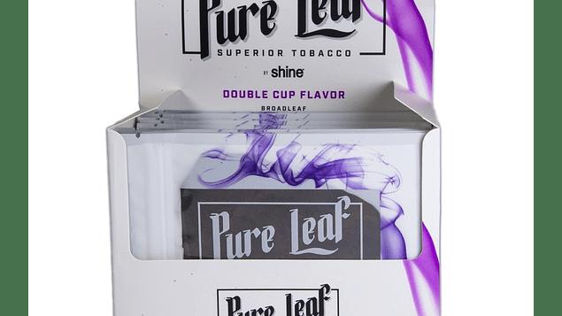 """Hojas Naturales de tabaco """"Double Cup"""" Wraps"""