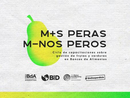 """Comienza el Ciclo: """"Más peras, menos peros"""" con el apoyo del BID"""