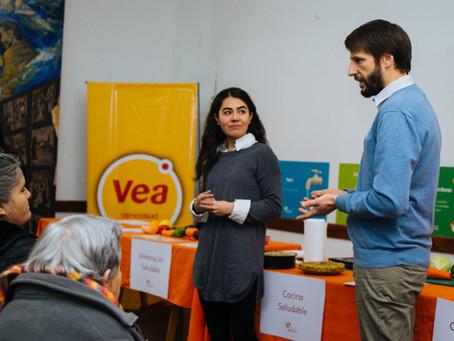 """Los Bancos de Alimentos y Supermercados Vea lanzaron la segunda edición de """"Cocina Saludable en"""