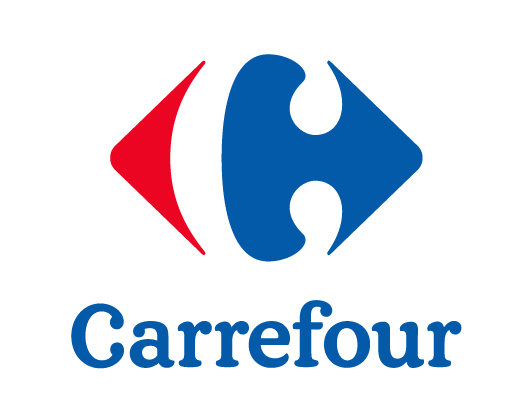 Logo Carrefour vertical