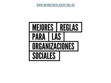 """Lanzamiento campaña """"Mejores Reglas Para Las Organizaciones Sociales"""""""