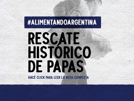 Salvando las papas: rescate histórico nacional