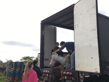 Importante donación de papas a la REDBdA que llegará a todo el país