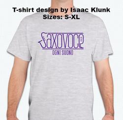 SaxoVoce T-shirt - $10.00