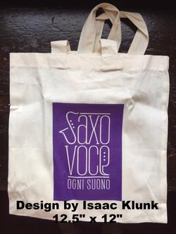 SaxoVoce tote bag - $6.00