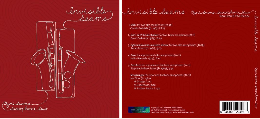 Invisible Seams CD - $11.97