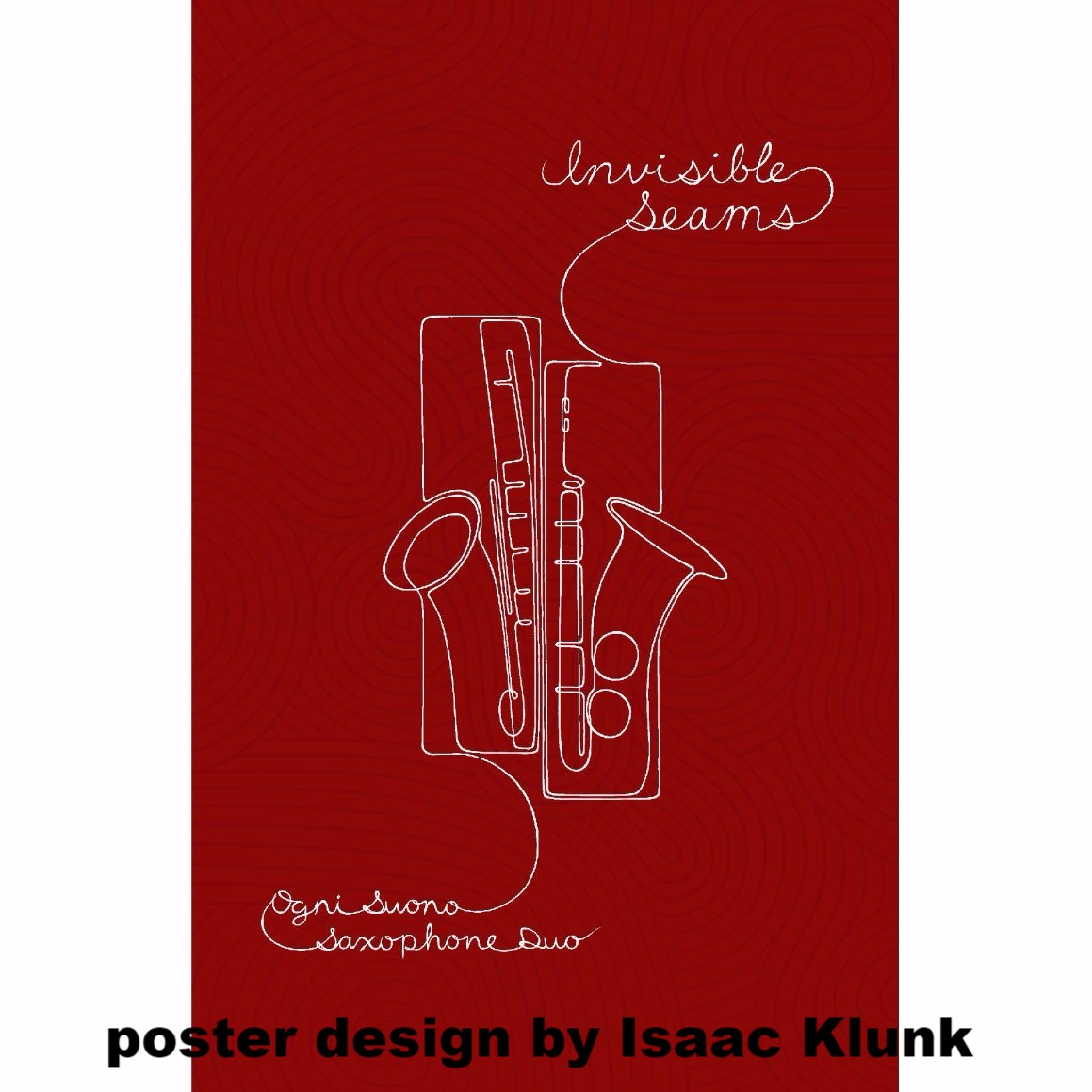 Invisible Seams Poster - $5.00