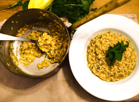 Risotto not Italian style