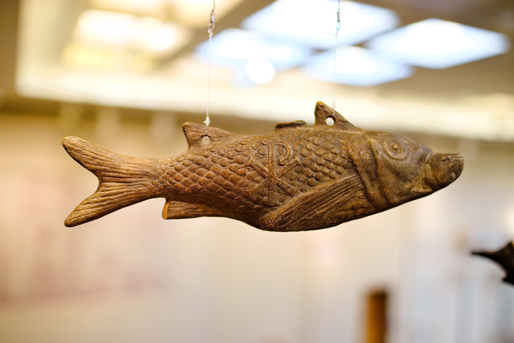 wander by paris Byzantine fish
