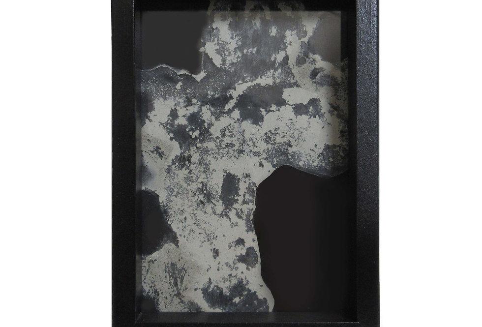 Valeria Dardano | Cemento su vetro | 10x15x2