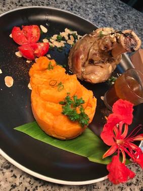 Souris d'agneau - hotel hibiscus