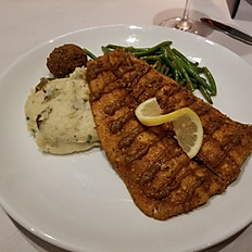 Pecan Crusted Rainbow Trout