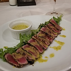Peppercorn Crusted Ahi Tuna