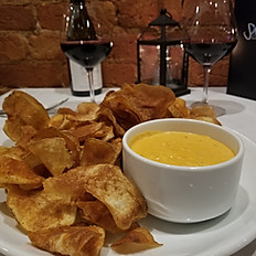 Pimento Cheese Fondue & Hand Cut Chips