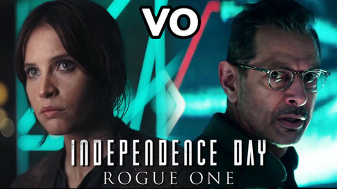 INDEPENDANCE DAY VS ROGUE ONE VO