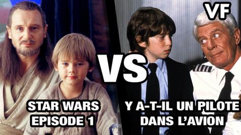 STAR WARS, EPISODE 1 VS Y A T IL UN PILOTE DANS L'AVION ?