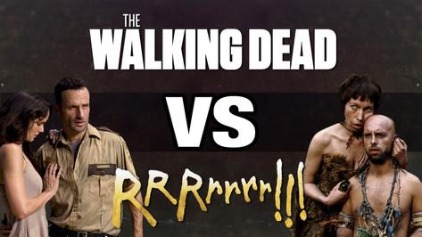 THE WALKING DEAD VS RRRRRRR !!! 1