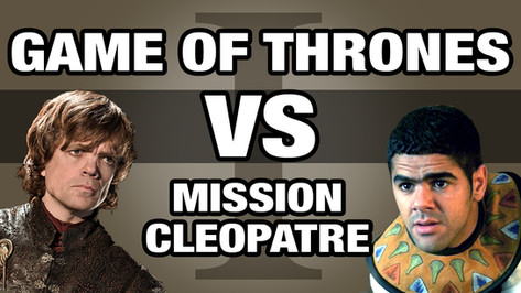 GAME OF THRONES VS ASTERIX MISSION CLEOPATRE 1