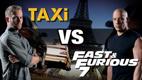 BANDE ANNONCE : TAXI VS FAST AND FURIOUS 7