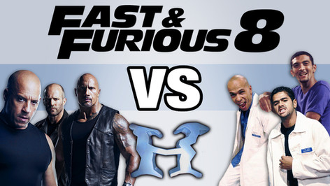FAST AND FURIOUS 8 VS H