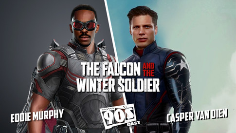 THE FALCON AND THE WINTER SOLDIER 90'S CAST