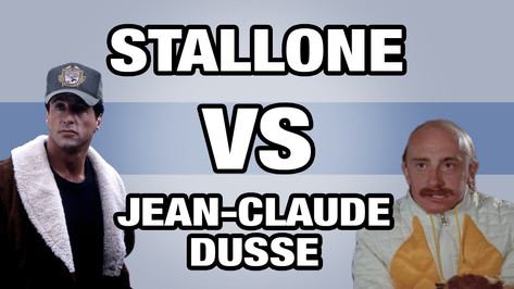STALLONE VS JEAN CLAUDE DUSSE