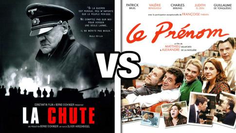 LA CHUTE VS LE PRENOM