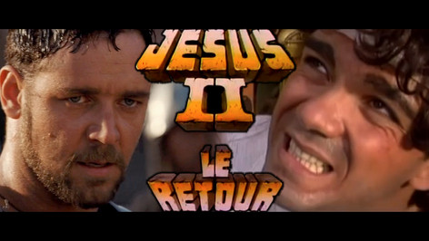 GLADIATOR VS JESUS 2, LE RETOUR (LES INCONNUS)