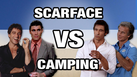 SCARFACE VS CAMPING